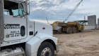 Coleman Materials Truck at Jobsite